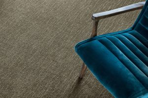 Blue chair on grey Carpet | Carpets by Direct