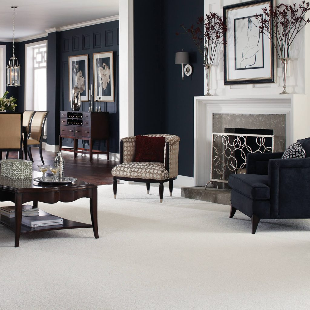 Living room white Carpet   Carpets by Direct