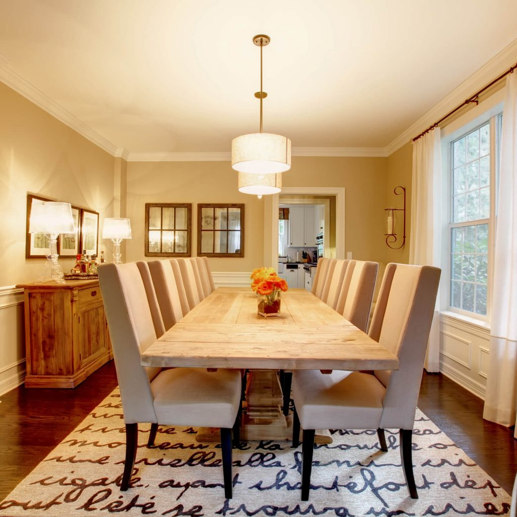 Dining room interior | Carpets by Direct