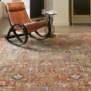 Armchair on Area Rug | Carpets by Direct