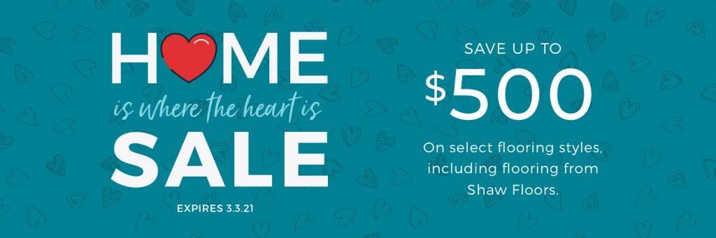 Home is Where the Heart is Sale | Carpets by Direct