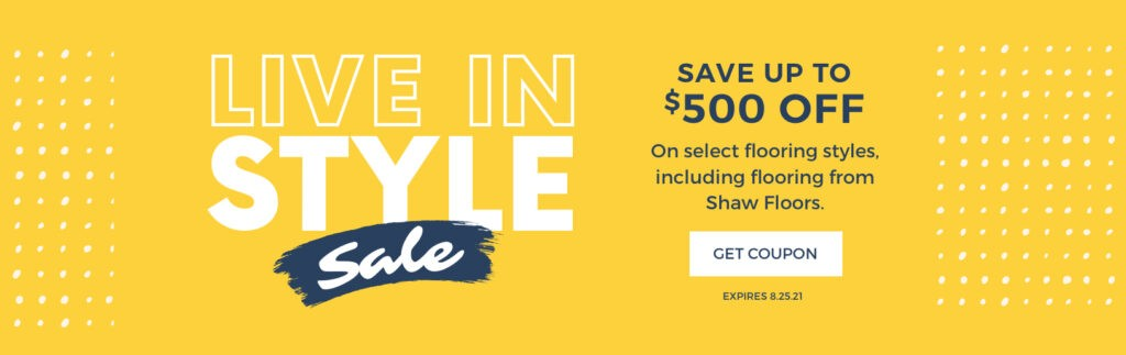 Live in Style Sale
